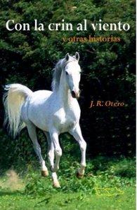 """portada libro """"Con la crin al viento"""""""