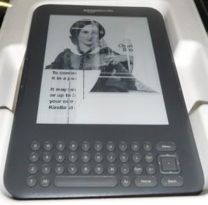 Kindle con la pantalla rota