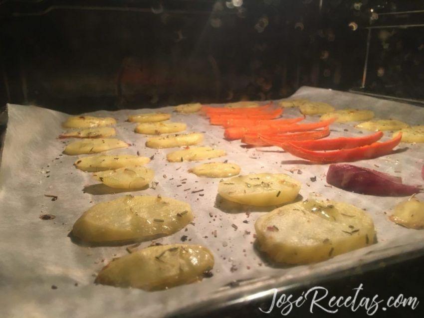 verduritas al horno