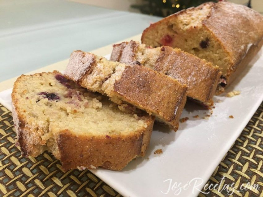 Rodajas de plum cake