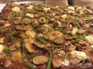 pizza de lentejas