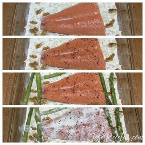 pasos salmon al horno