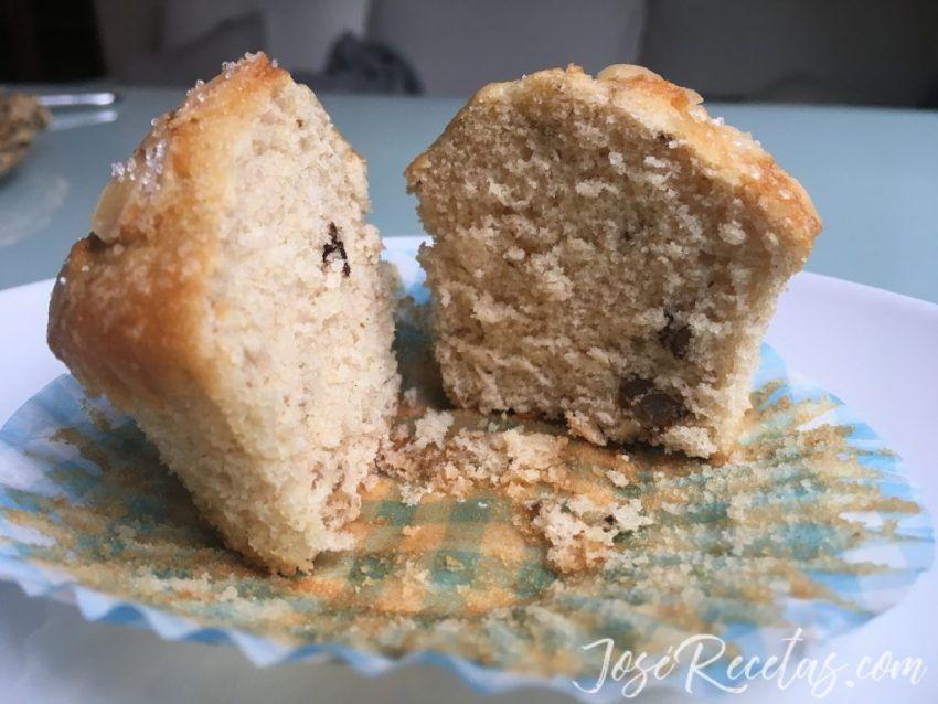 cupcake de nueces