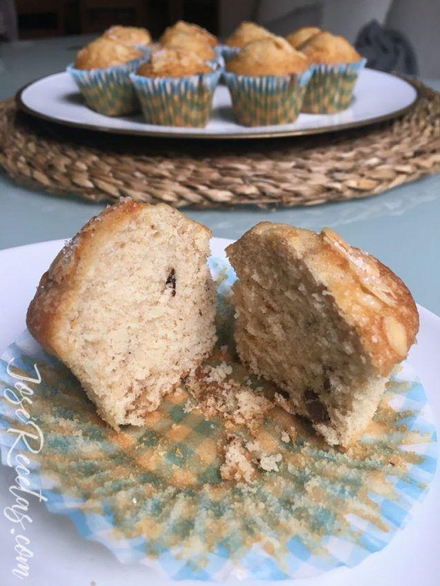 cupcakes con nueces deliciosos
