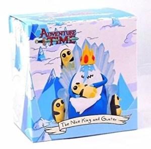 Adventure Time - The Nice King and Gunter Figura