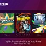 Éstos son los juegos que regalan con Twitch Prime en abril