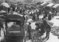 Mercado do barro en Allariz, por el primer tercio del siglo