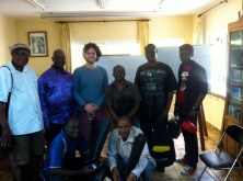 Guitar Workshop in Yaoundé (Cameroon). Desember 2013