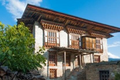 Bhutan - Ura home