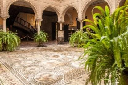 Andalusia - Seville's Lebrija Palace.