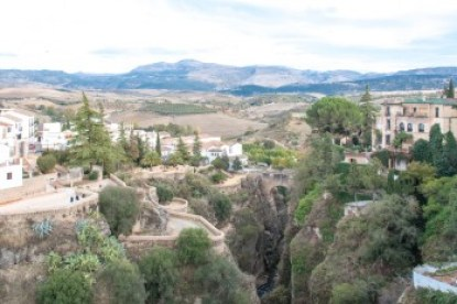Andalusia -Ronda and the El Tajo Gorge.