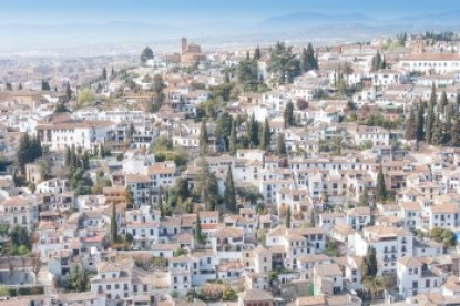 Andalusia - The Albacin Moorish neighborhood of Granada.