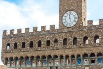 Tuscany - Florence, Palazzo Vecchio shields.