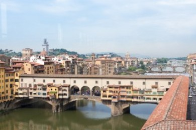 Tuscani - Florence. .Vassari Corridor,