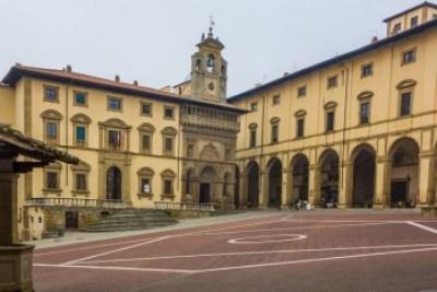 Tuscany - Casentino, Arezzo Piazza Grande.