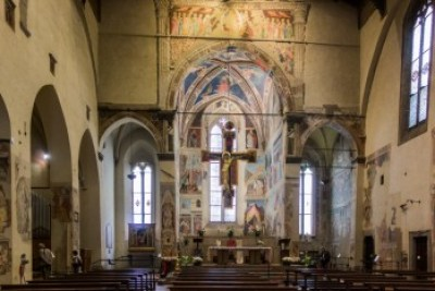 Tuscany - Casentino. Arezzo Basillica.