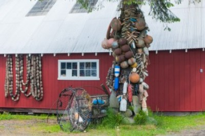 Petersburg Alaska, fisherman's art.