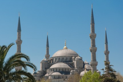 Istanbul -the Blue Mosque.
