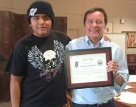 Accepting Certificate