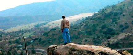 Jose Calderon over looking La Paz