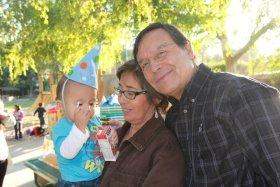 Rose, Jose, and grandson