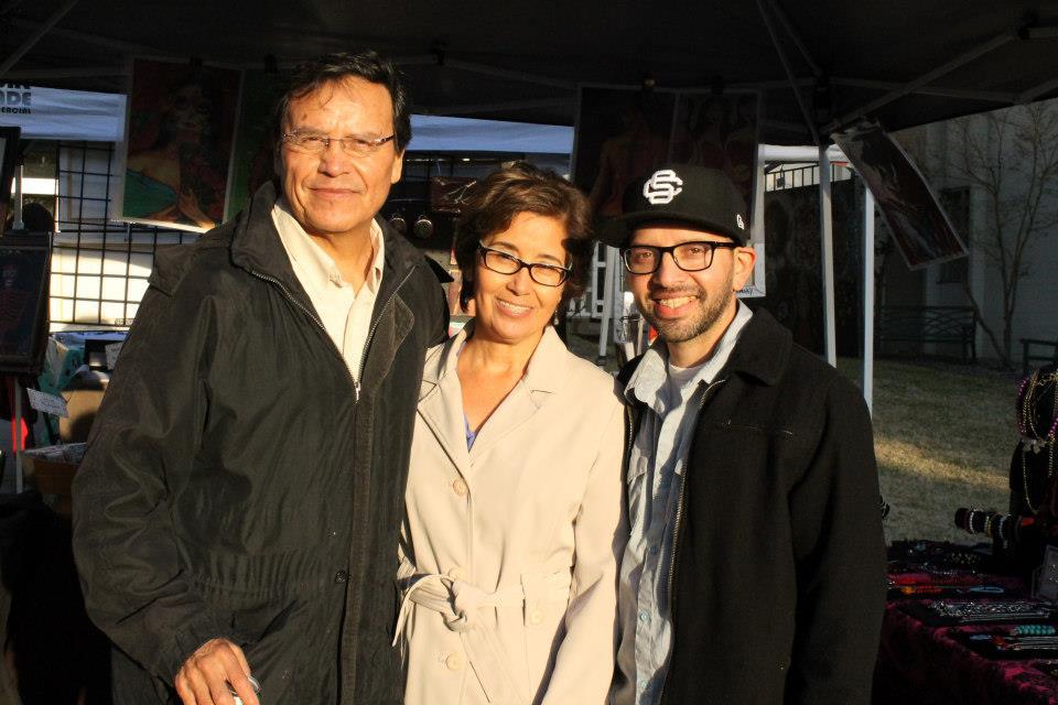 Jose, Rose with Luis Genaro Garcia