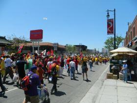 March Againt Walmart 2012