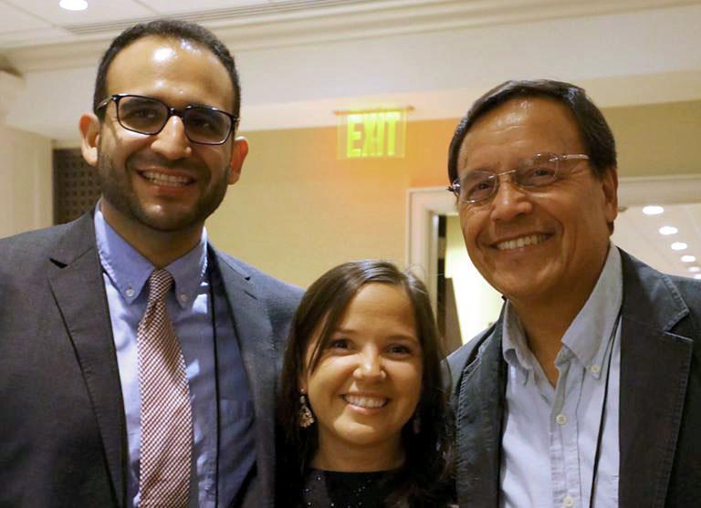 Jose with Brianne Davila and Armando Lara-Millan