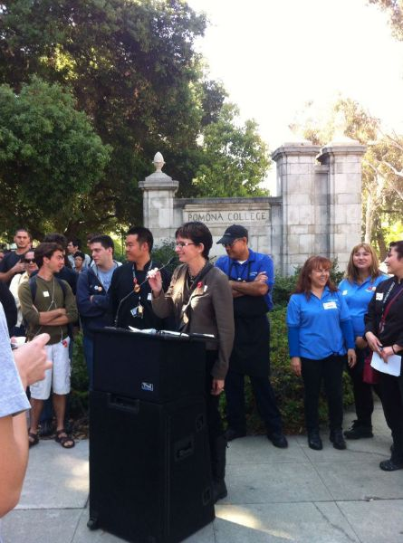 Dining Hall Workers Press Conference