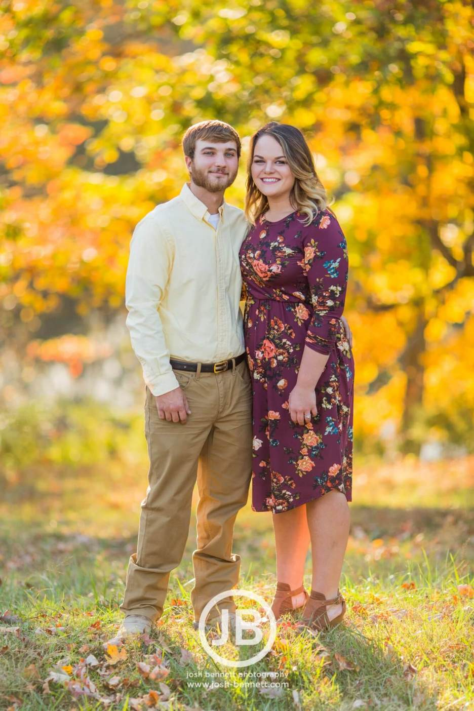 Tennessee Fall Engagement Photos