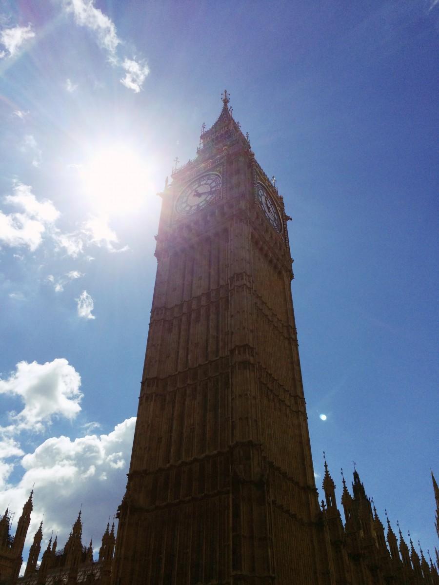 Big Ben is, well, big.
