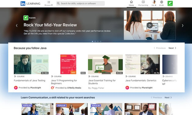 LinkedIn Learning Hub