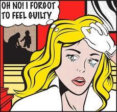 guilty girl comic