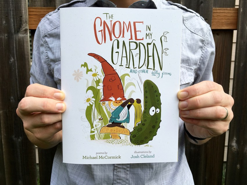 "New Book, ""Gnome In My Garden"" Now Available"