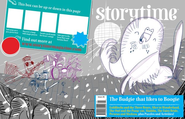 storytime-budgie-boogie-cover-sketch2-josh-cleland