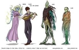 GZ: Infinity Core - Undead, Slayer, Alien(s)