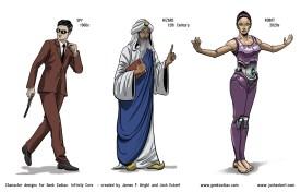 GZ: Infinity Core - Spy, Wizard, Robot
