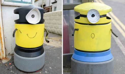 Bins-painted-like-Minions-341182
