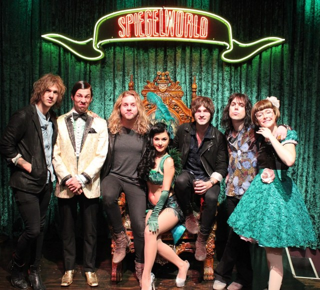 The Struts attend ABSINTHE at Caesars Palace on 11.12.15_credit Joseph Sanders and Spiegelworld(1)