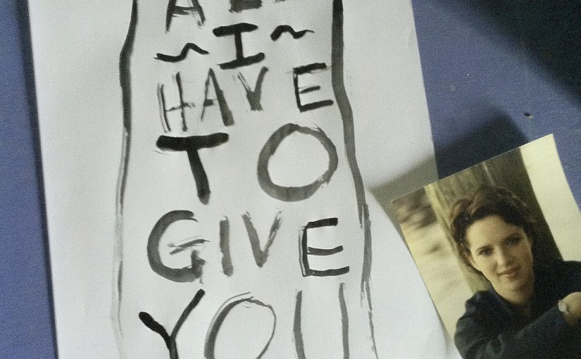 All I Have To Give You… #poetrythursday