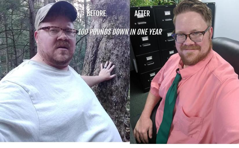 How I Lost 100 Pounds In a Year