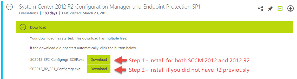 ConfigMgr 2012 R2 Service Pack 1 Install and Overview