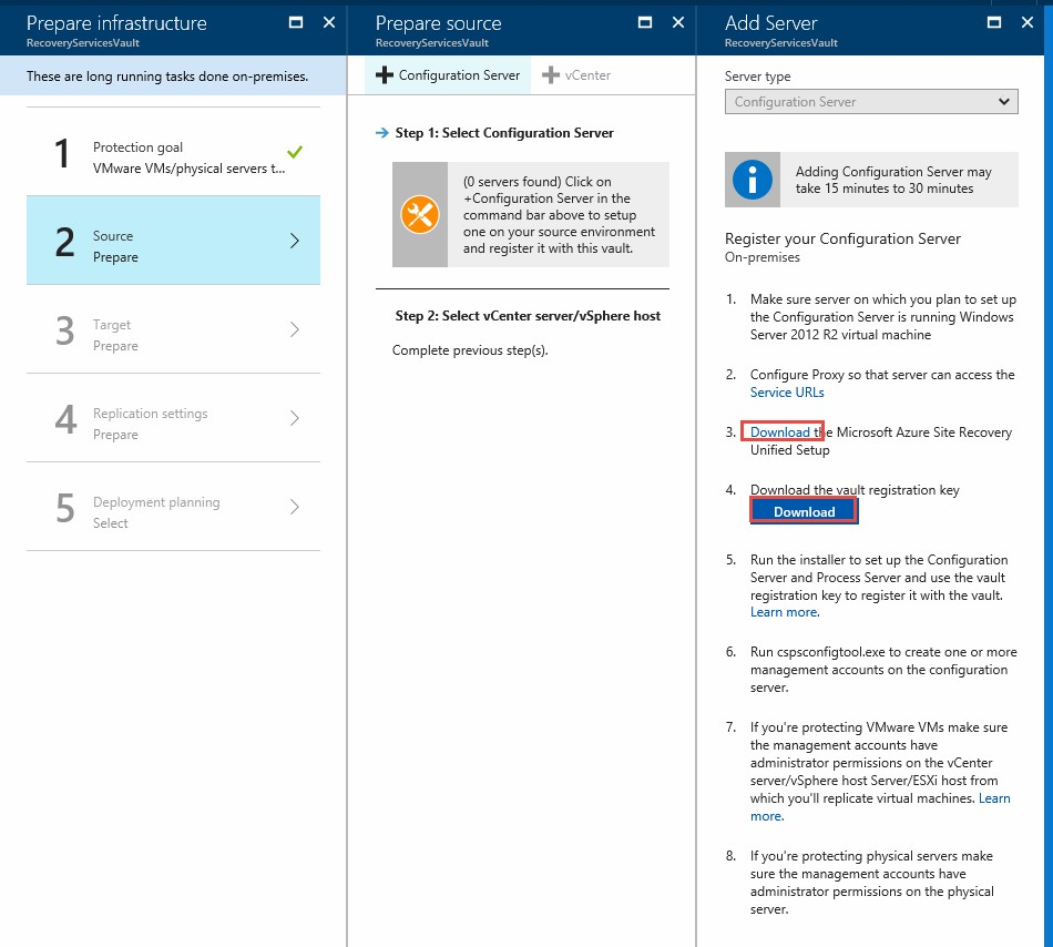How to Configure Azure Site Recovery for VMware