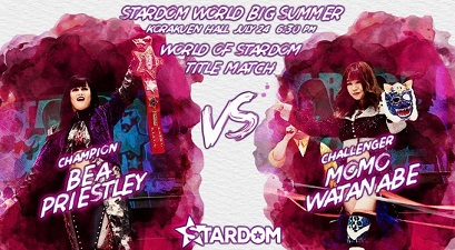 Stardom World Big Summer - Bea Priestley vs. Momo Watanabe