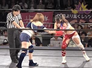Gatoh Move Hikaru Shida vs. Mitsuru Konno