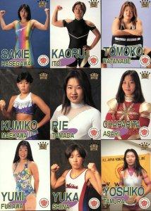 All Japan Women Official Cards Set #2
