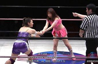 Sakura Hirota vs. Ayame Sasamura