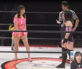 Ayako Sato vs. Sakura Hirota