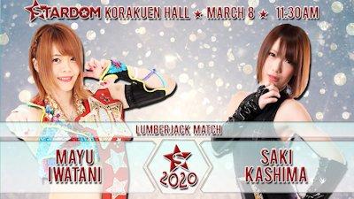 Mayu Iwatani vs. Saki Kashima