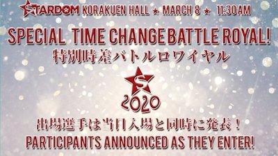 Time Change Battle Royal